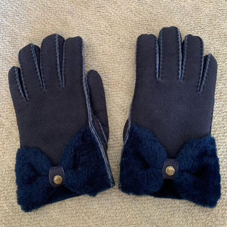 アグ(UGG)のUGG 手袋 ネイビー(手袋)