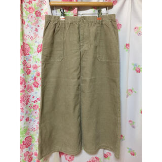 シマムラ(しまむら)の(LL〜3L)大きいサイズ*コーデュロイのロングスカート(ロングスカート)