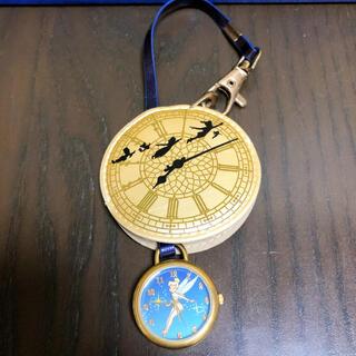 ディズニー(Disney)のピーターパン 時計 キーチェーン(腕時計)