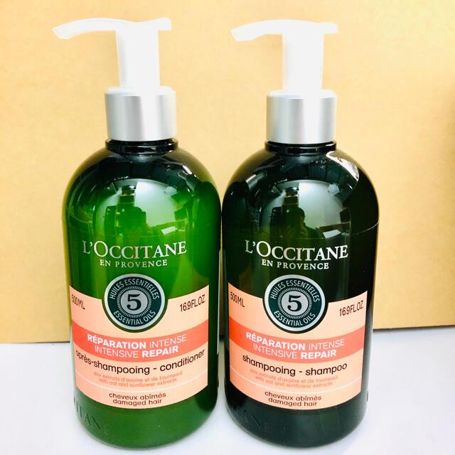L'OCCITANE(ロクシタン)のロクシタン ファイブハーブス リペアリング シャンプー コンディショナー 500 コスメ/美容のヘアケア/スタイリング(シャンプー/コンディショナーセット)の商品写真