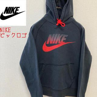 ナイキ(NIKE)のNIKE スエットパーカー 胸元 ビックロゴ 人気(スウェット)