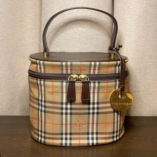 ◆BURBERRY◆バニティバッグ◆ヴィンテージ