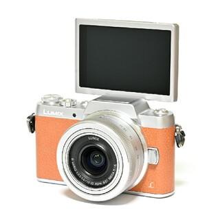 Panasonic - 【Panasonic】美品★新品SD付き!LUMIX DMC-GF7レンズキット