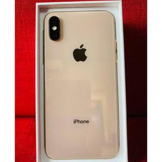 アイフォーン(iPhone)のiPhone xs 64 GB アップル直購入SIMフリー(スマートフォン本体)