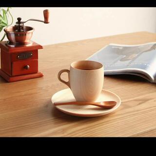 【とんみ様専用】旭川クラフト 高橋工芸 Cara(カラ) マグカップ&ソーサー(グラス/カップ)