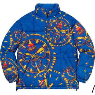Supreme - Supreme Watches Reversible Puffy Jacket