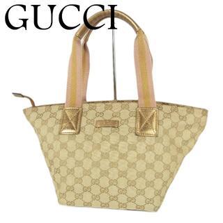 グッチ(Gucci)のグッチ GUCCI シェリー GG キャンバス×レザー トート ハンド バッグ(トートバッグ)