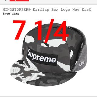 シュプリーム(Supreme)のsupreme windstopper box logo newera キャップ(キャップ)