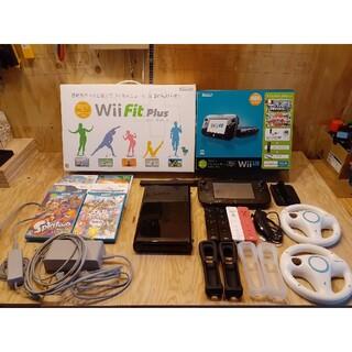 任天堂 - Wii U すぐに遊べるファミリープレミアムセット+Wii Fit U他