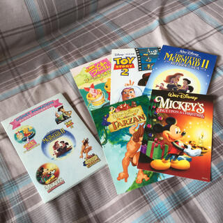 ディズニー(Disney)のディズニー☆はがき7枚セット☆絵はがき ミッキーマウス プーさん(使用済み切手/官製はがき)