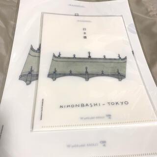 クラスカ クリアファイル【日本橋】(ファイル/バインダー)