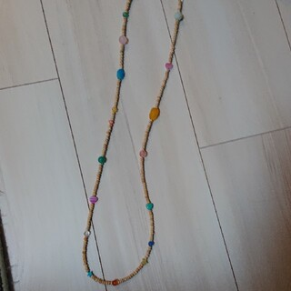 ビームス(BEAMS)の天然石ビーズネックレス(ネックレス)