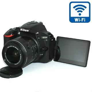 Nikon - 【Nikon】Wi-Fi機能搭載!液晶画面が動く一眼レフ♡D5500レンズキット