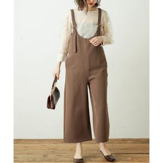 ナチュラルクチュール(natural couture)のデザイン肩ひもサロペット(サロペット/オーバーオール)