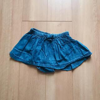 ベビーギャップ(babyGAP)のGAP デニム スカート パンツ 18-24m(パンツ)