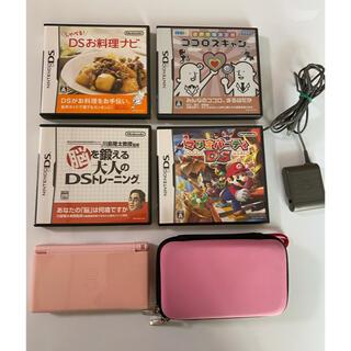 ニンテンドーDS - Nintendo DS lite  ケース&ソフト4枚セット マリオパーティー