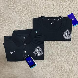 ミズノ(MIZUNO)の名古屋グランパス移動着 ポロシャツ、Tシャツ(ウェア)