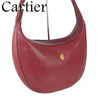 カルティエ(Cartier)のカルティエ マストライン トリニティ 2C ダブルC ショルダー ハンド バッグ(ショルダーバッグ)