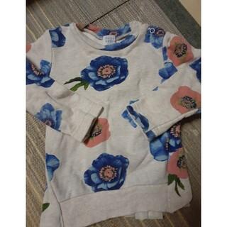 ハッカベビー(hakka baby)のハッカベビー ハッカキッズ トレーナー 90(Tシャツ/カットソー)