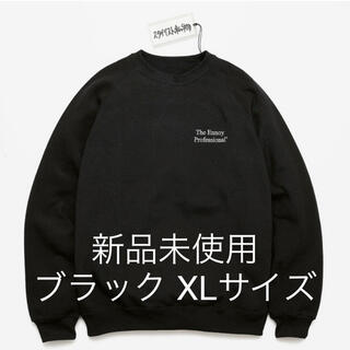 【新品 未使用】ennoy スタイリスト私物 スウェット ブラック XL
