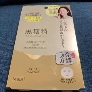 コーセーコスメポート(KOSE COSMEPORT)の黒糖精 高保湿ジェルマスク(4回分)(パック/フェイスマスク)