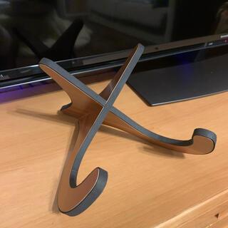 ウクレレ スタンド 木製 簡単組立式(その他)