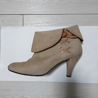 ダイアナ(DIANA)のDIANA ショートブーツ ピンク(ブーツ)