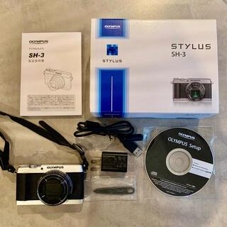 オリンパス(OLYMPUS)のオリンパス コンデジ スタイラス SH-3(コンパクトデジタルカメラ)