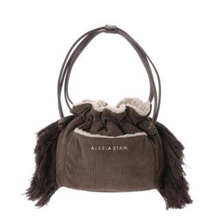 アリシアスタン(ALEXIA STAM)のALEXIASTAM Riversible Drawstring Bag(ショルダーバッグ)
