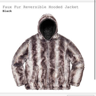 Supreme - Supreme Faux Fur Reversible Hooded Lサイズ