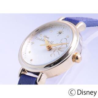 ディズニー(Disney)の【送料無料】ディズニー ティンカーベル 細ベルトクォーツ【新品未使用】(腕時計)