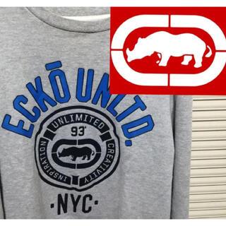 エコーアンリミテッド(ECKO UNLTD)のEcko Unltd スウェット グレー Mサイズ(スウェット)