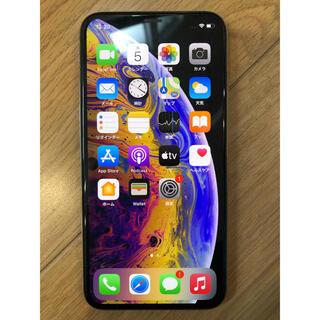 アイフォーン(iPhone)のiPhoneXS 512GB シルバー(スマートフォン本体)