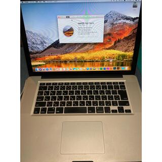Apple - MacBook Pro 15 2020Officeインストール済