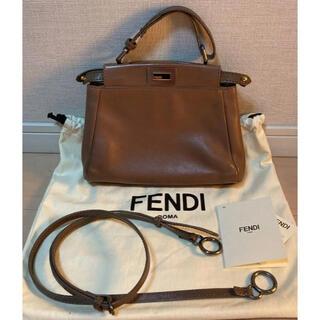フェンディ(FENDI)のフェンディ ピーカブー ミニ(ハンドバッグ)