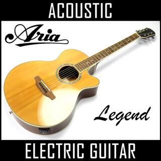 ヤマハ(ヤマハ)のaria Legend アリア レジェンド エレアコ アコースティック ギター(アコースティックギター)
