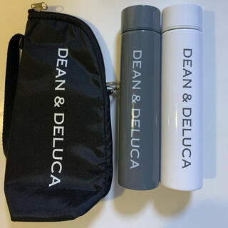 ディーンアンドデルーカ(DEAN & DELUCA)のDEAN & DELUCA  ステンレスボトル&ボトルケース 3点セット(タンブラー)