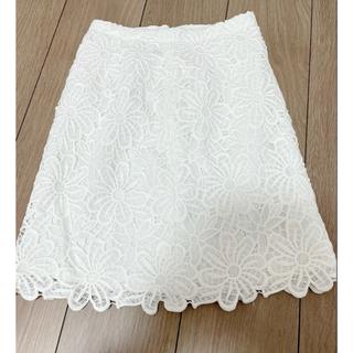 PROPORTION BODY DRESSING - 美品 プロポ フラワー刺繍タイトスカート
