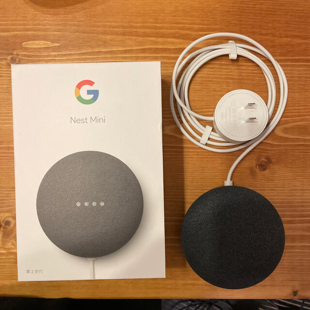Google(グーグル)のGoogle Nest Mini 第二世代 スマホ/家電/カメラのオーディオ機器(スピーカー)の商品写真