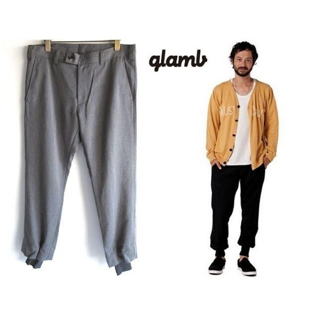 glamb(グラム)の名作 glamb 裾リブ ストレッチウール Bailey slacks 2 メンズのパンツ(その他)の商品写真
