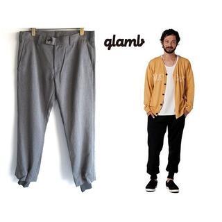glamb - 名作 glamb 裾リブ ストレッチウール Bailey slacks 2