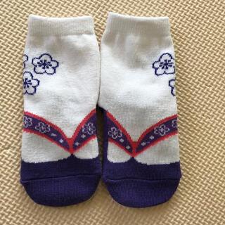 袴ロンパース 靴下 ひな祭り 初節句(和服/着物)