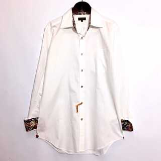 Paul Smith - ポールスミス コレクション 襟 袖 花柄 シャツ