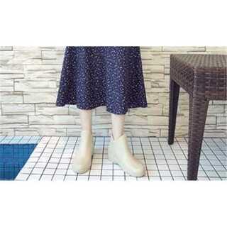 滑り止めの靴 水靴 カジュアル 軟らかい底 レインシューズ(レインブーツ/長靴)