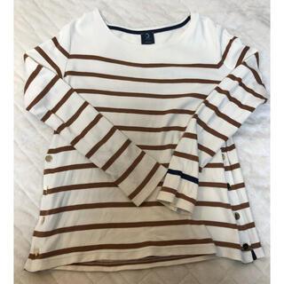 アルモーリュックス(Armorlux)のAmour lux ボーダーロンT(Tシャツ(長袖/七分))
