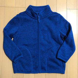 ユニクロ(UNIQLO)のユニクロ フリース ジャケット サイズ110(ジャケット/上着)