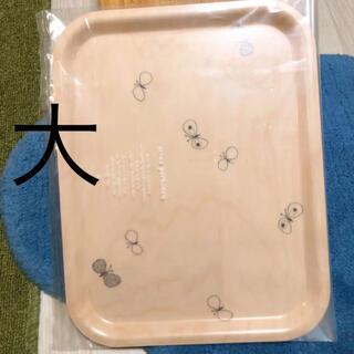 mina perhonen - 完売 ミナペルホネン トレイ 大 北欧 トレー お盆 木製 白樺カゴ マリメッコ