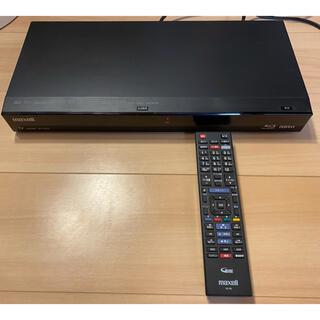 マクセル(maxell)のIVDR maxellマクセルBDレコーダー BIV-R1021 リモコン付き(ブルーレイレコーダー)