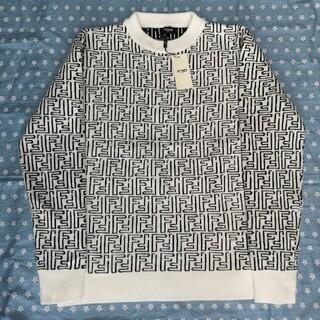 フェンディ(FENDI)の白 フェンディ セーター ホワイト(ニット/セーター)