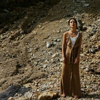 ファビアンルー(Fabiane Roux)のnowos Cotton linen sleeveless dress(ロングワンピース/マキシワンピース)